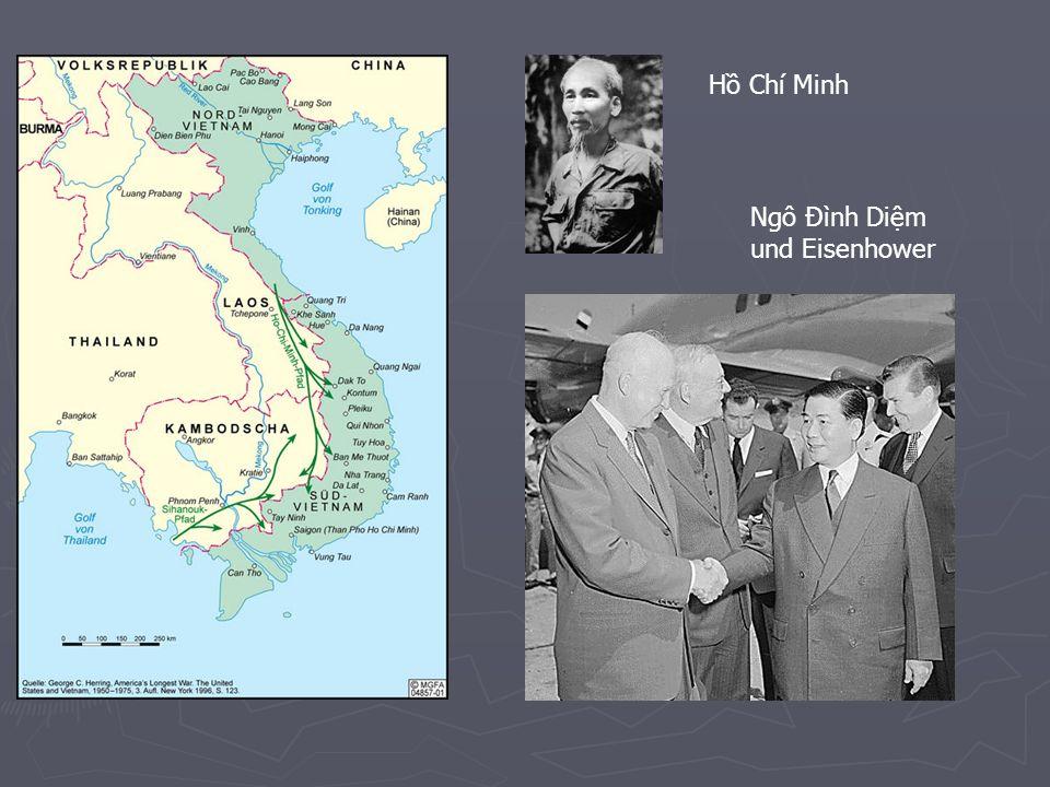 Friedensgespräche 1972 Thieu bleibt an der Macht Thieu bleibt an der Macht Anerkennung der FNL als politische Kraft Anerkennung der FNL als politische Kraft Zusammenarbeit für allgemeine Wahlen Zusammenarbeit für allgemeine Wahlen Vollständiger Abzug der US-Streitkräfte Vollständiger Abzug der US-Streitkräfte Ende der Angriffe auf Nordvietnam Ende der Angriffe auf Nordvietnam