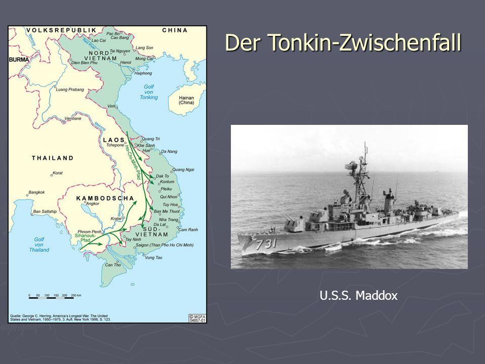 Der Tonkin-Zwischenfall U.S.S. Maddox