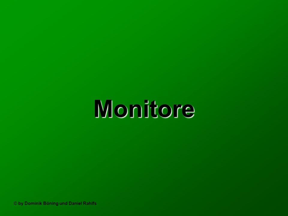 Monitore © by Dominik Böning und Daniel Rahlfs