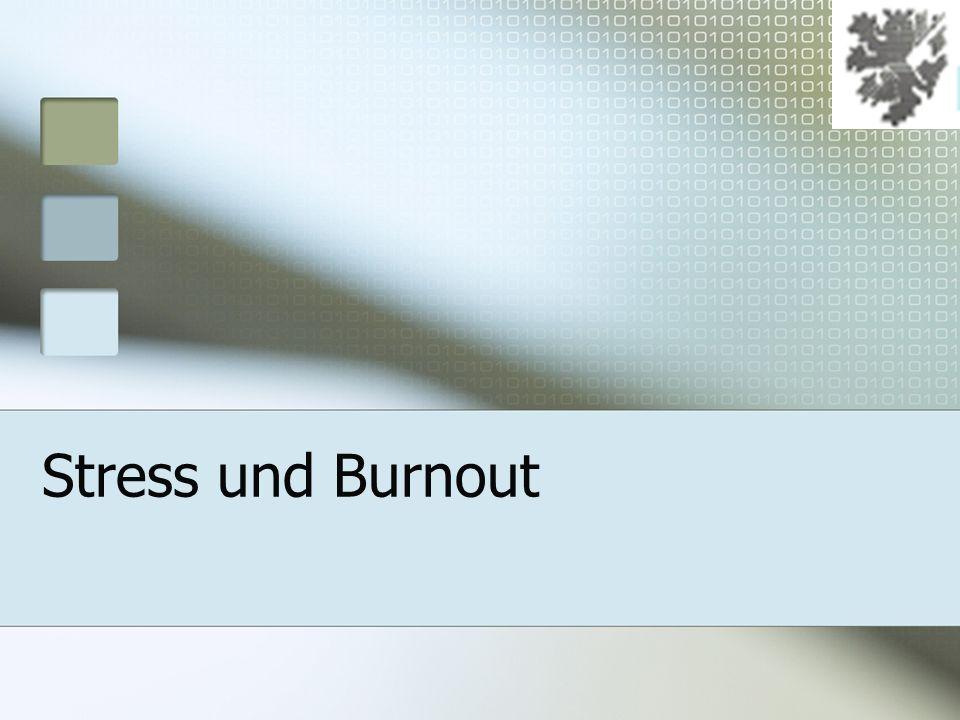 12.Januar 2014 Was ist Burnout.