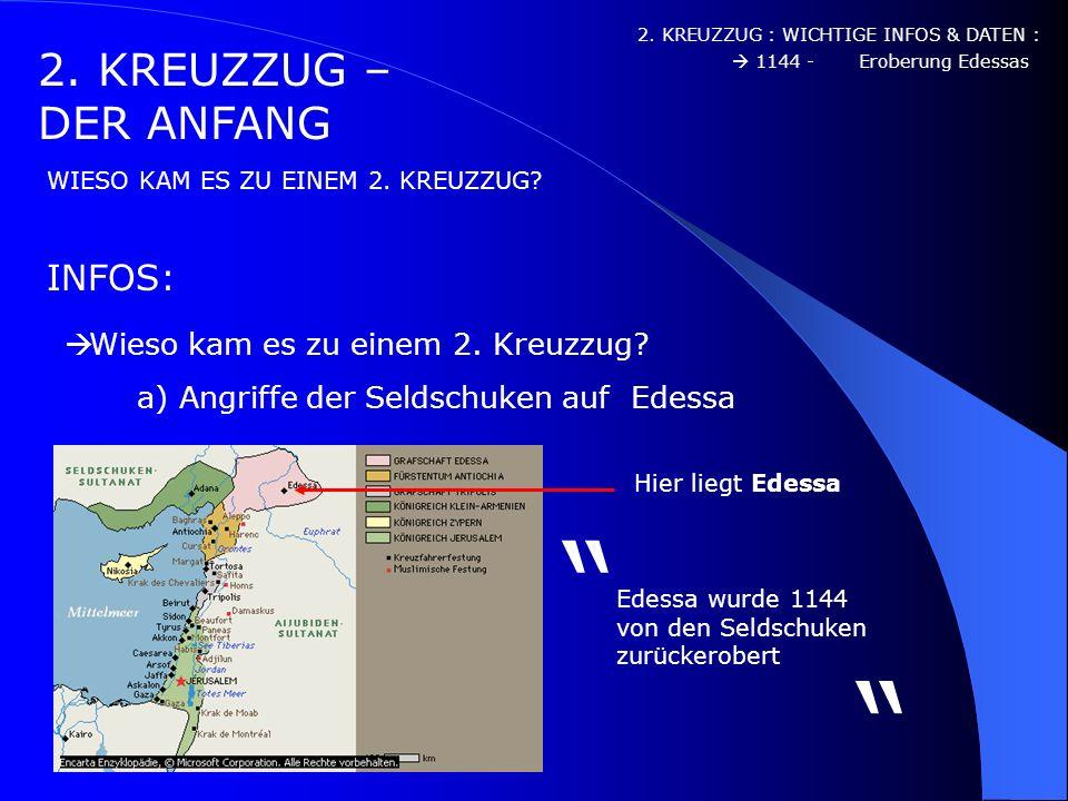 1. KREUZZUG – DIE KARTEN WICHTIGE INFOS & DATEN : WIE SAH DAS ALSO AUS? 1078 – Besetzung Jerusalems 1085 – Hilferuf von Alexius I 1096 – Aufbruch, Nie