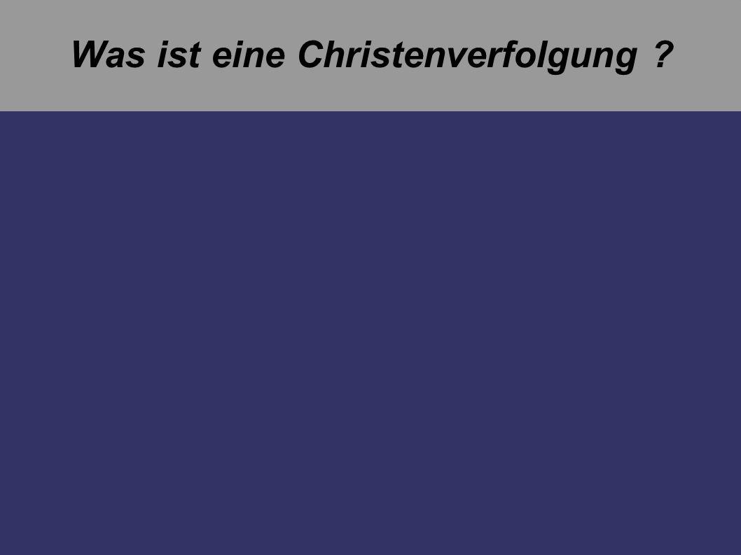 Unter Diokletian (284-305) und Galerius (303-311) Da das Reich im Jahre 293 vor dem Zerfall stand, führte Diokletian eine Reform ein : Er verstärkte die Provinzverwaltungen und teilte seine Macht mit drei Mitherrschern (Tetrarchie) Da das Christentum wieder eine Konkurrenz darstellte, wurde die Christenverfolgung wieder eingeführt.