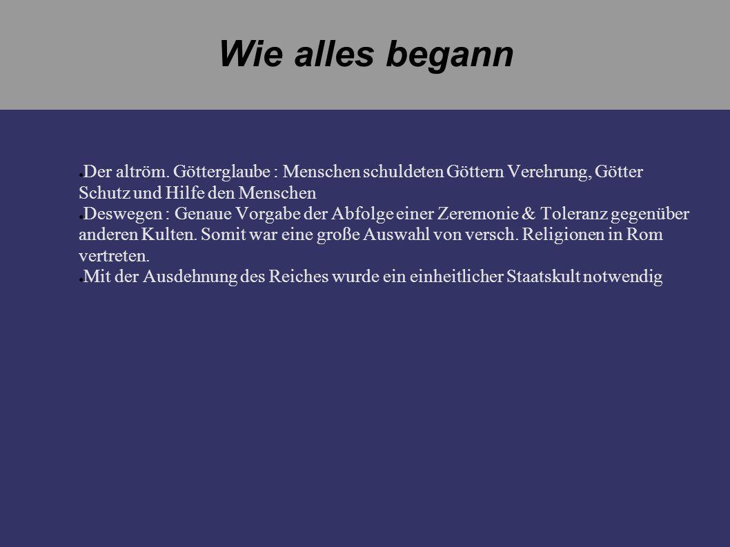 Unter Decius (249-251) Decius veranlasste die Verfolgung im gesamten Römischen Reich.