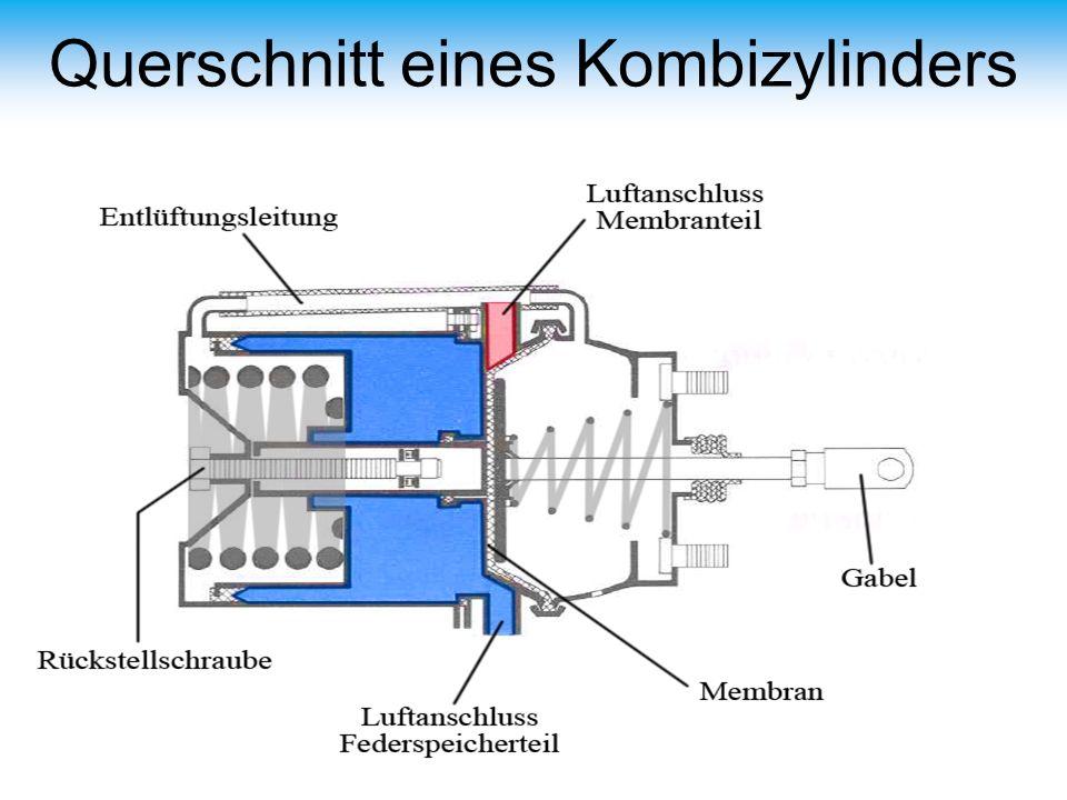 Querschnitt eines Kombizylinders