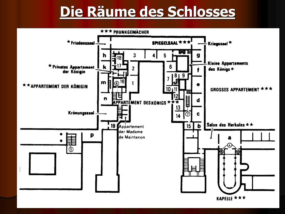 Die Räume des Schlosses