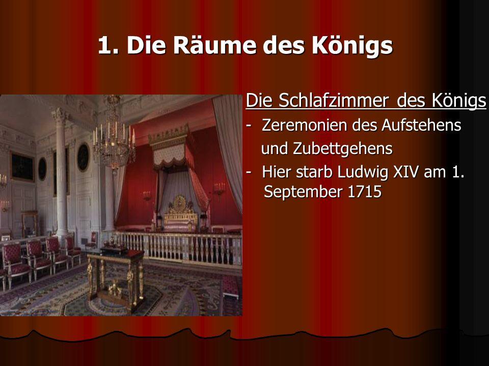 Schloss Versailles Schlafzimmer Der Königin: Versailles Review ... Ludwig Xiv Schlafzimmer