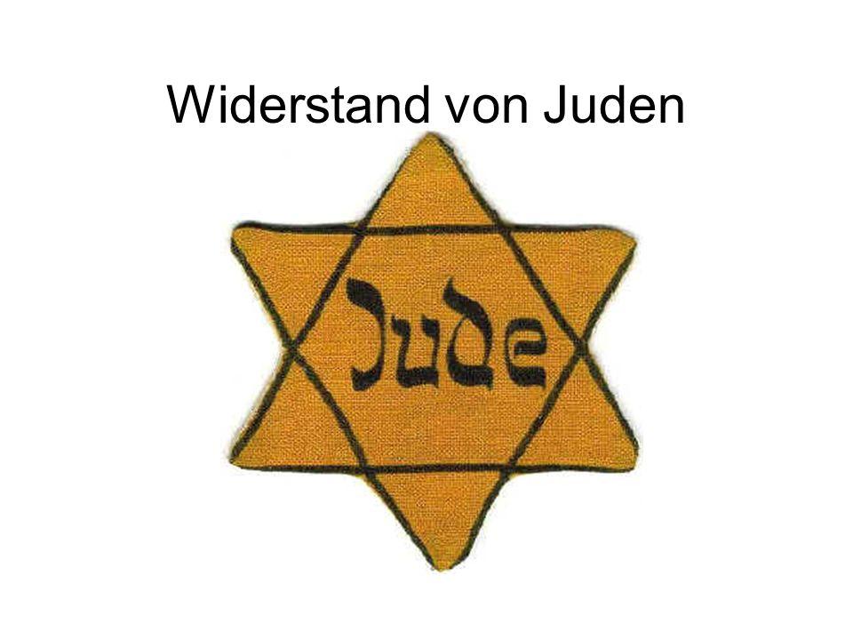 Widerstand von Juden