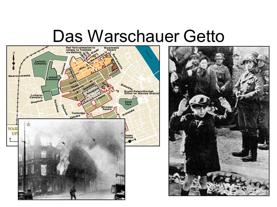 Das Warschauer Getto