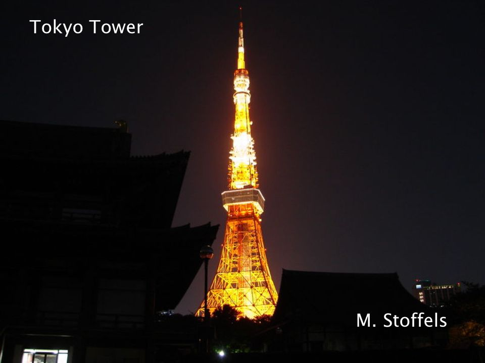 Tokyo Tower M. Stoffels