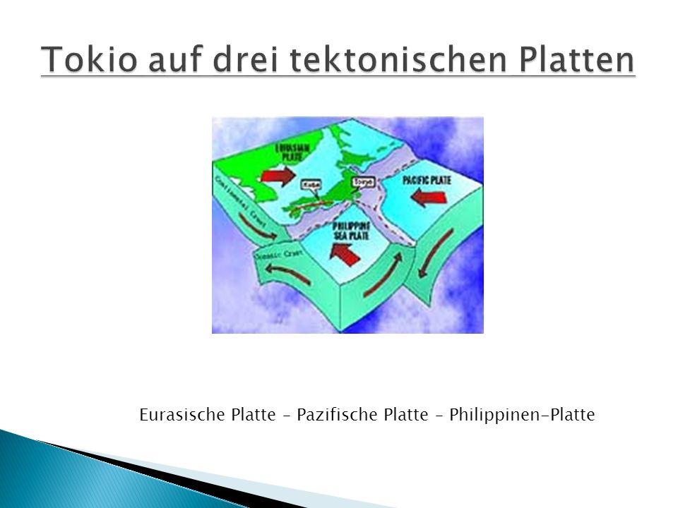 Eurasische Platte – Pazifische Platte – Philippinen-Platte