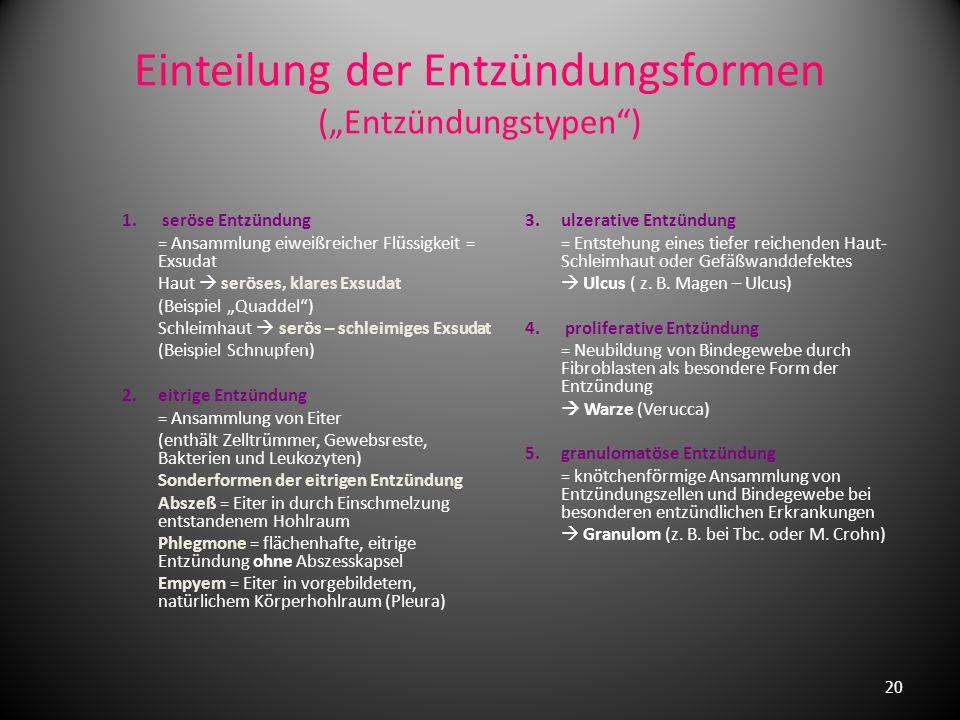 Laborveränderungen (zeigen uns ganz allgemein die Mitreaktion des Gesamtorganismus an !!) 1. Erhöhung der BKS (Blutkörperchensenkungsgeschwindigkeit)