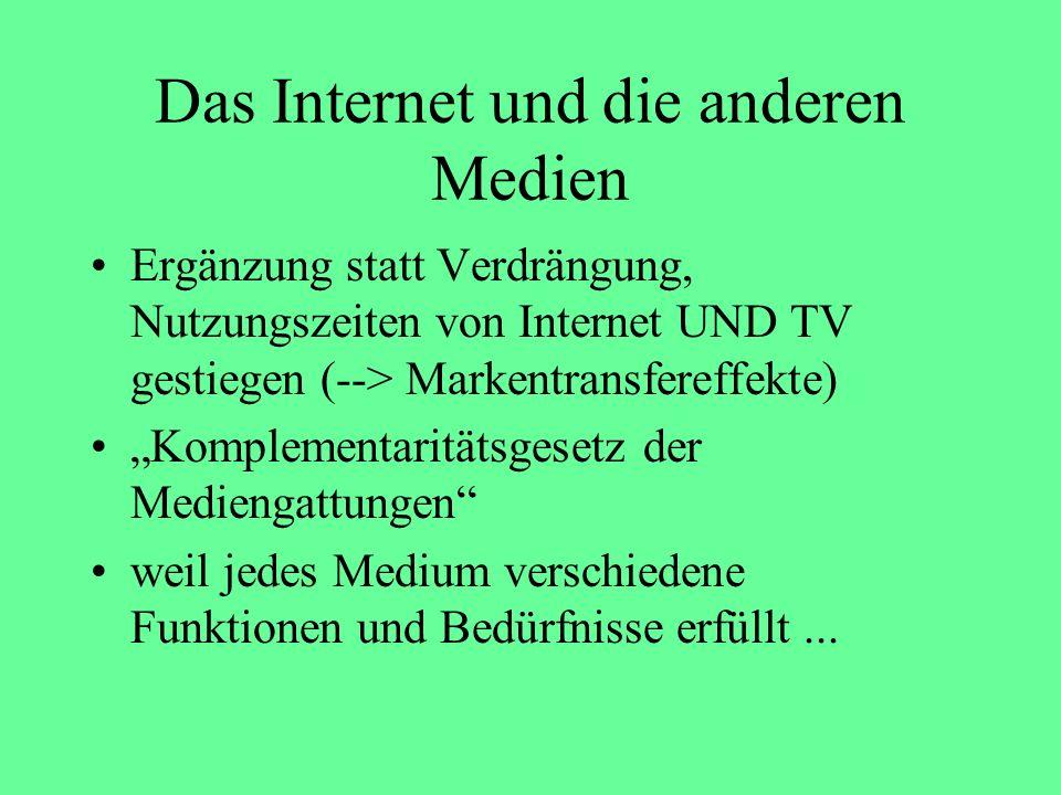 Zusammengefasst: Die Hälfte der Deutschen sind Netizens 3 nahezu gleich große Gruppen: Selten-, Gelegentlich- und Häufignutzer hohe Zuwächse bei allen