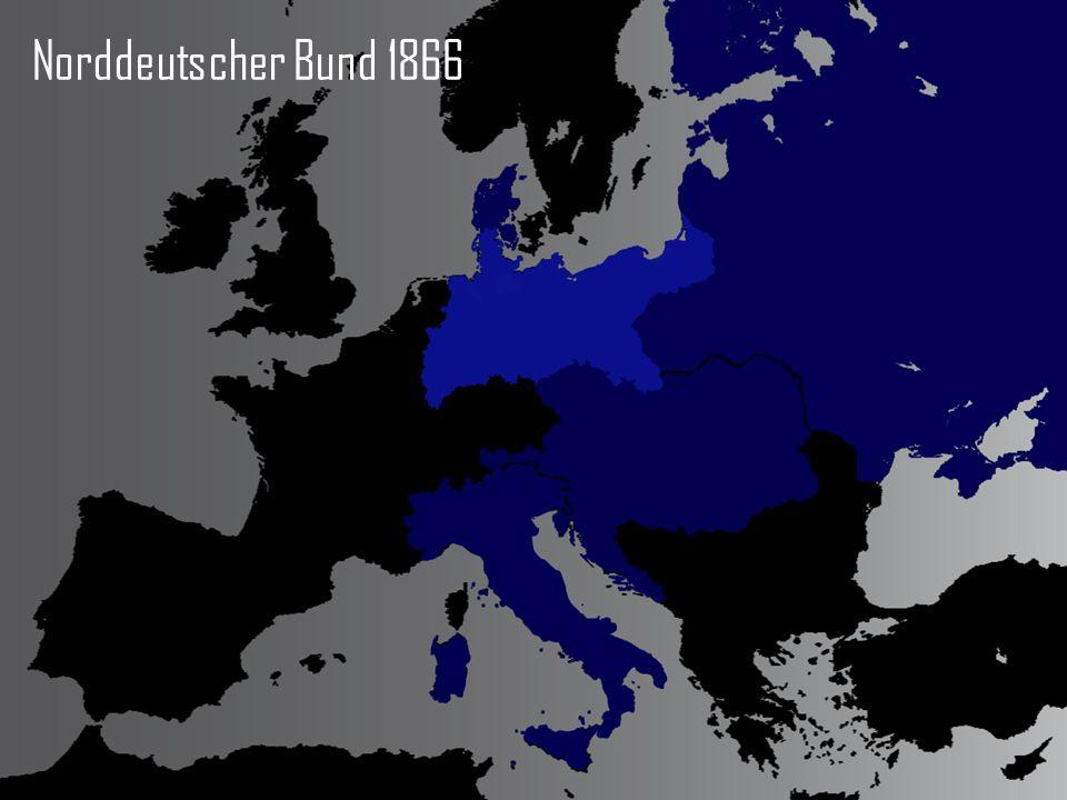 Norddeutscher Bund 1866