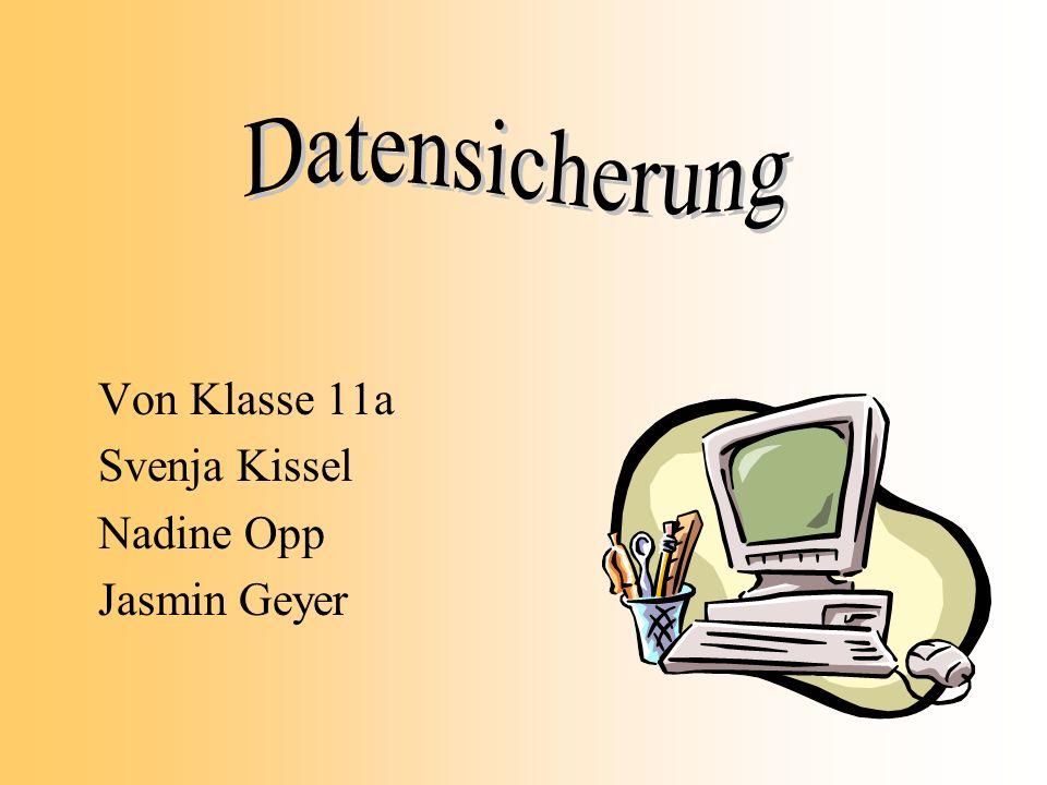 Von Klasse 11a Svenja Kissel Nadine Opp Jasmin Geyer