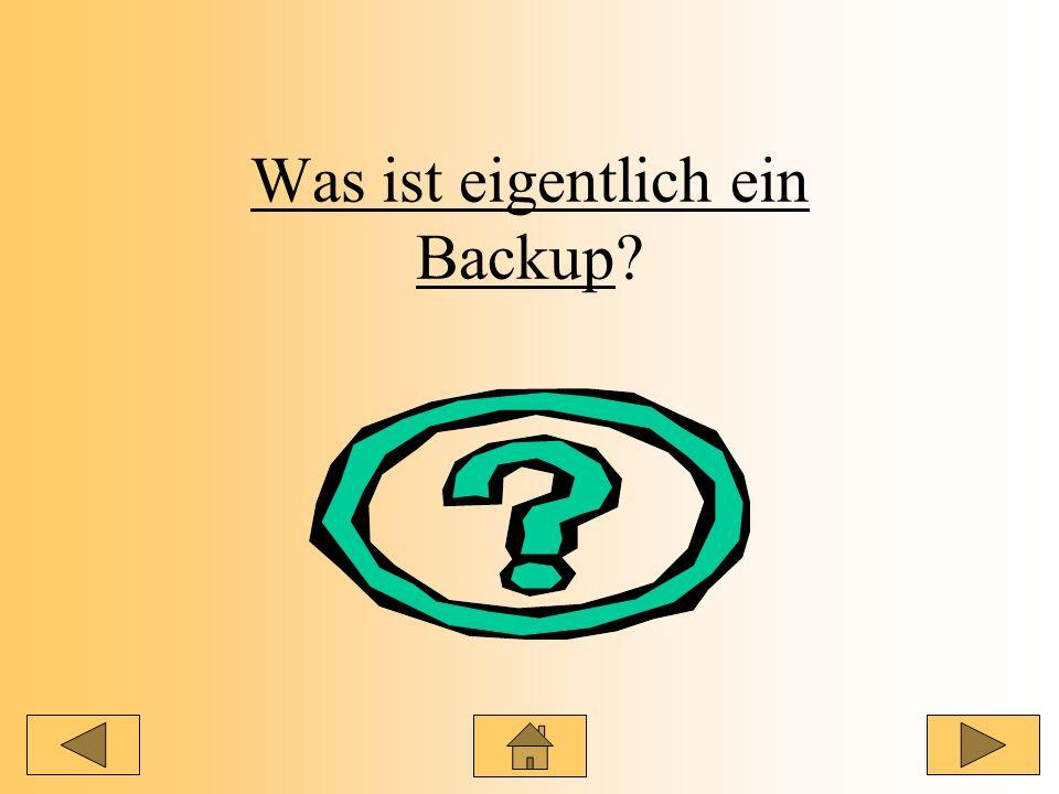 Was ist eigentlich ein Backup?