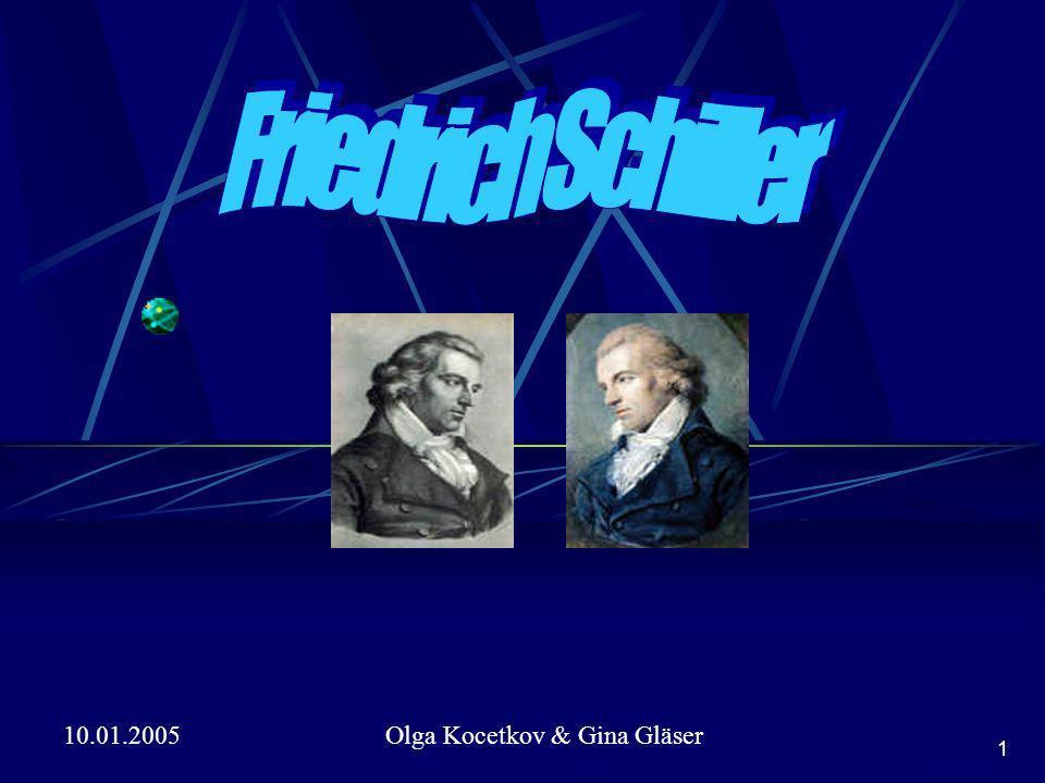 10.01.2005Olga Kocetkov & Gina Gläser 1NR Friedrich Schiller Olga Kocetkov & Gina Gläser