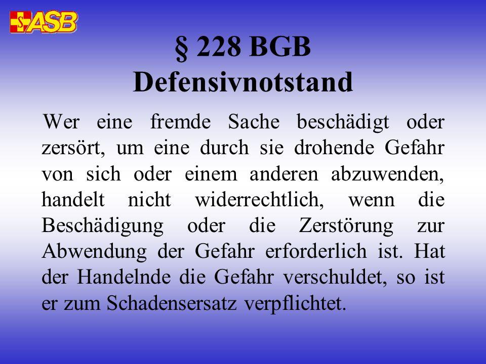 Zusammenfassung Für RS gilt: Notstand-Gesetze Für RA gilt: Notstand-Gesetze + Stellungnahme d. BÄK