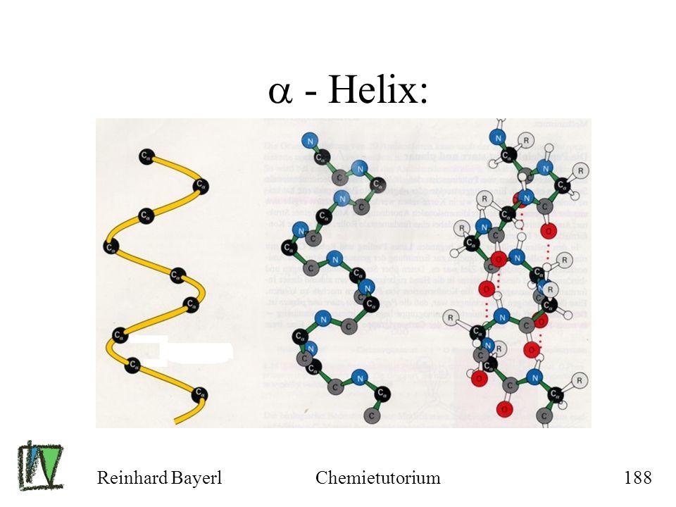 Reinhard BayerlChemietutorium188 - Helix: