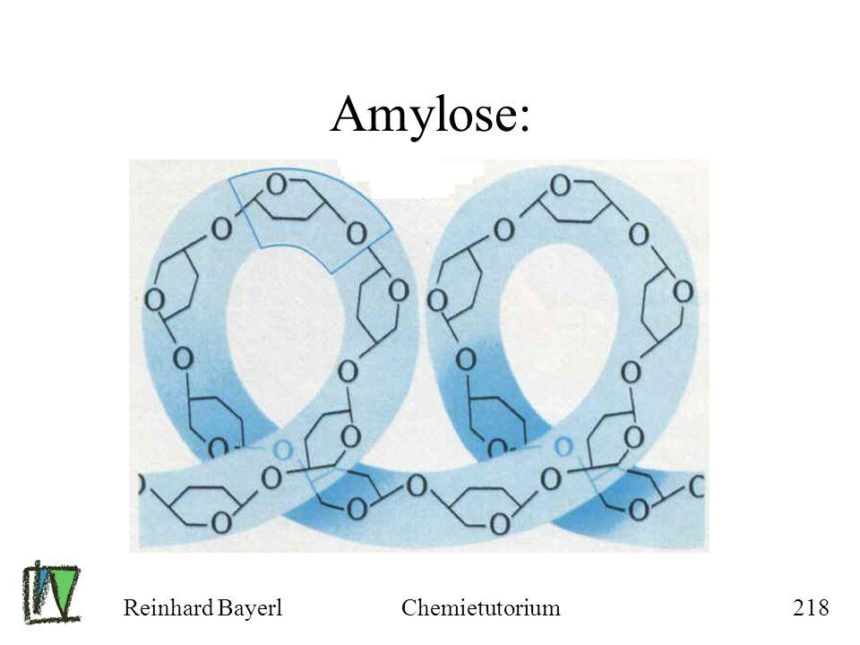 Reinhard BayerlChemietutorium218 Amylose: