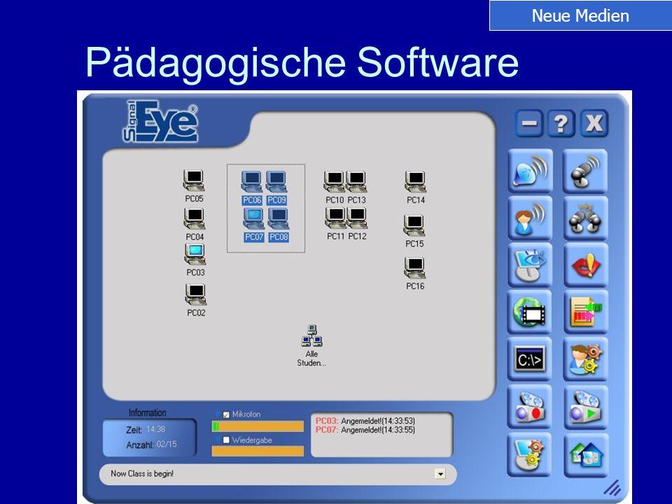 Pädagogische Software Neue Medien