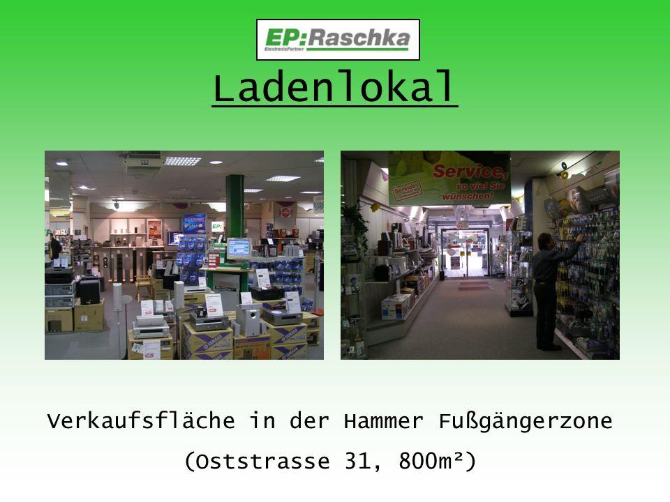 Ladenlokal Verkaufsfläche in der Hammer Fußgängerzone (Oststrasse 31, 800m²)