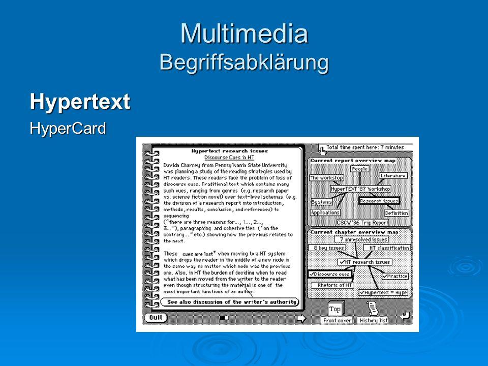HypertextHyperCard