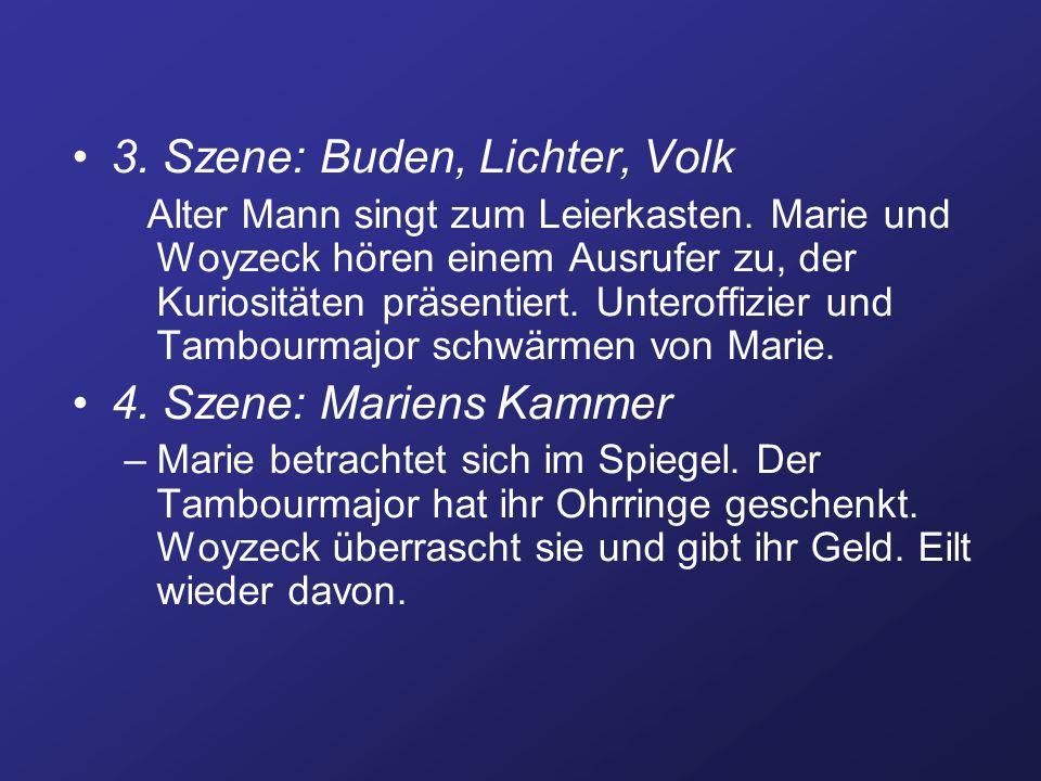 5.Szene: Beim Hauptmann –Woyzeck rasiert den Hauptmann.
