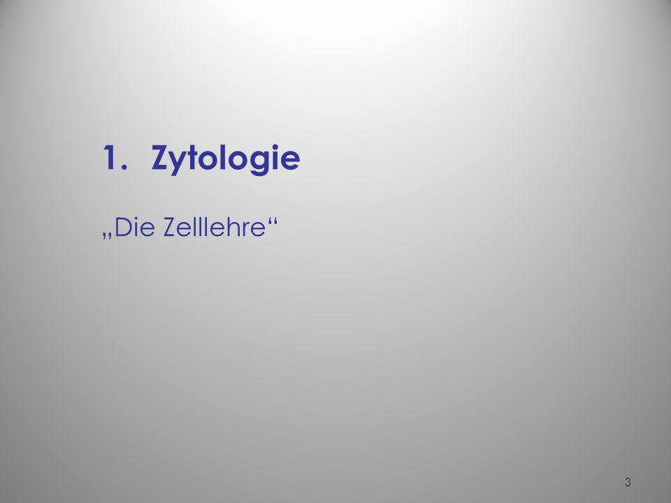 3 1.Zytologie Die Zelllehre