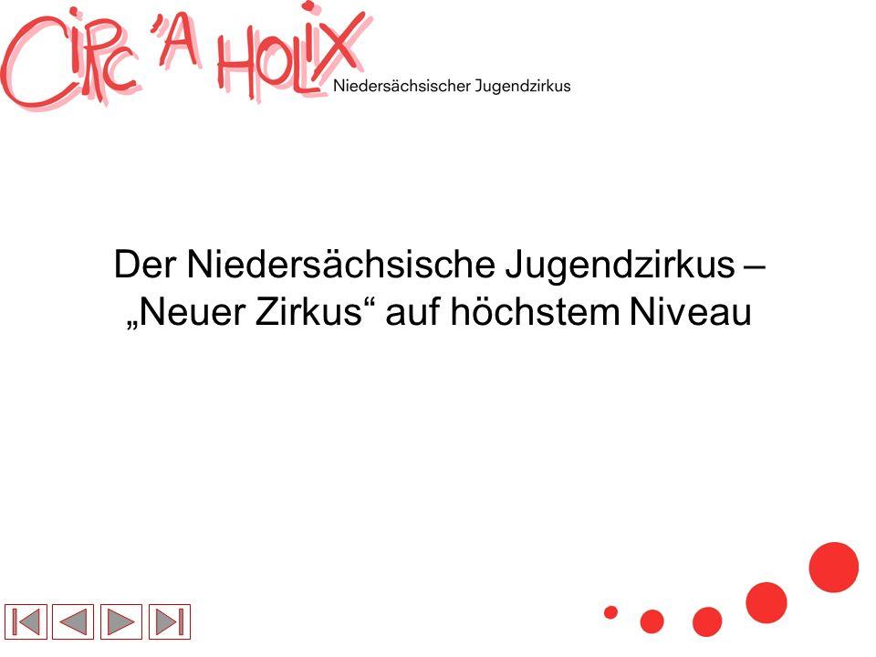Der Niedersächsische Jugendzirkus – Neuer Zirkus auf höchstem Niveau