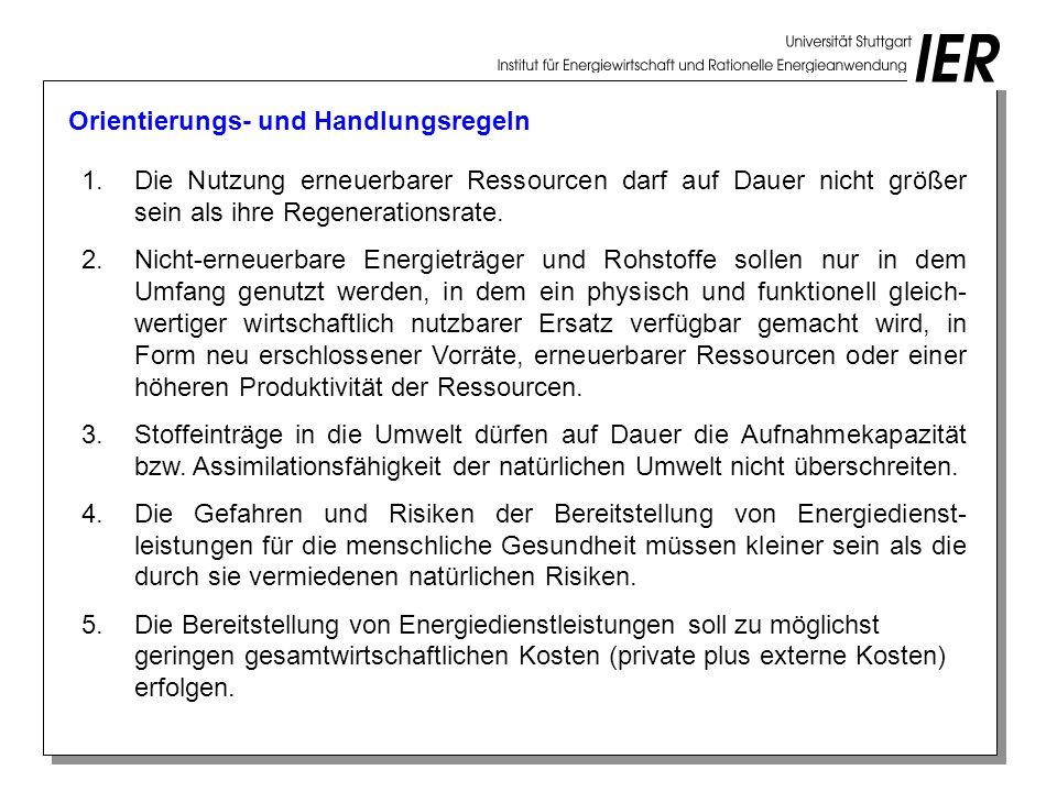 Primärenergieverbrauch und CO 2 -Emissionen in Bayern im Referenzszenario in PJ bzw.