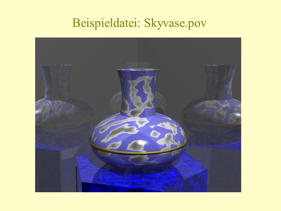 Beispieldatei: Skyvase.pov