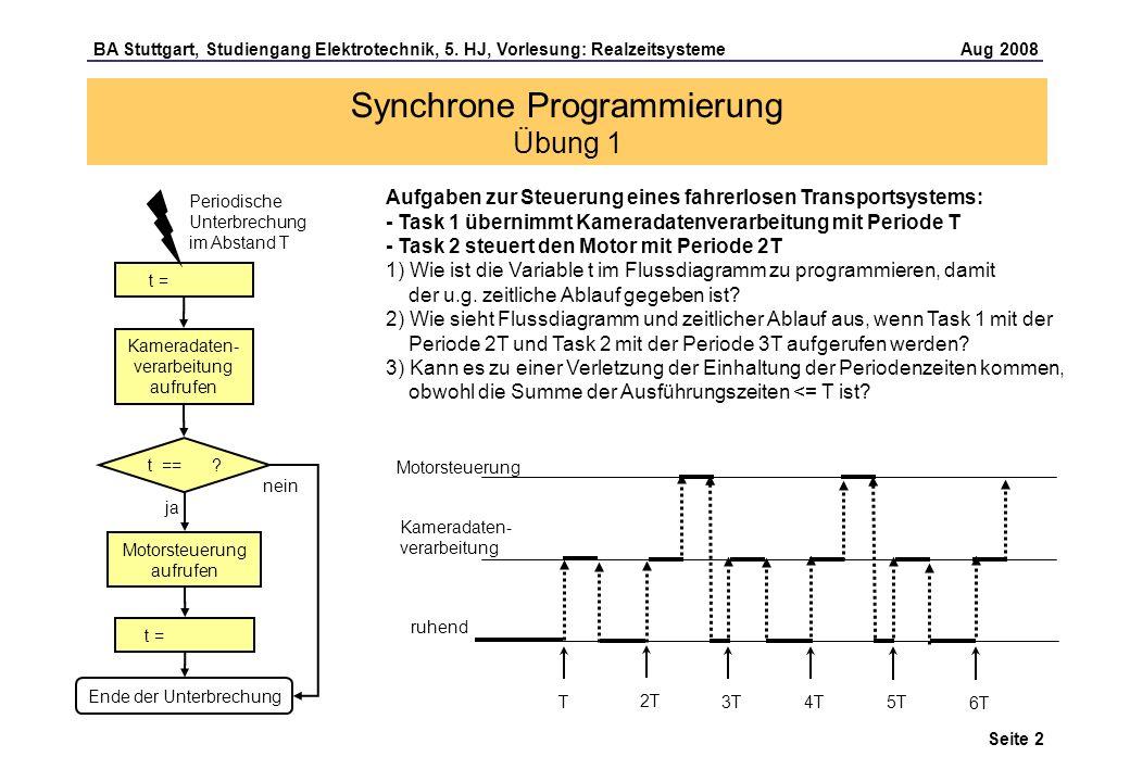 Seite 2 BA Stuttgart, Studiengang Elektrotechnik, 5.