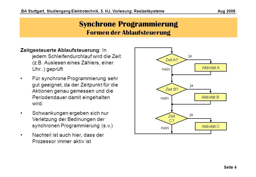 Seite 5 BA Stuttgart, Studiengang Elektrotechnik, 5.