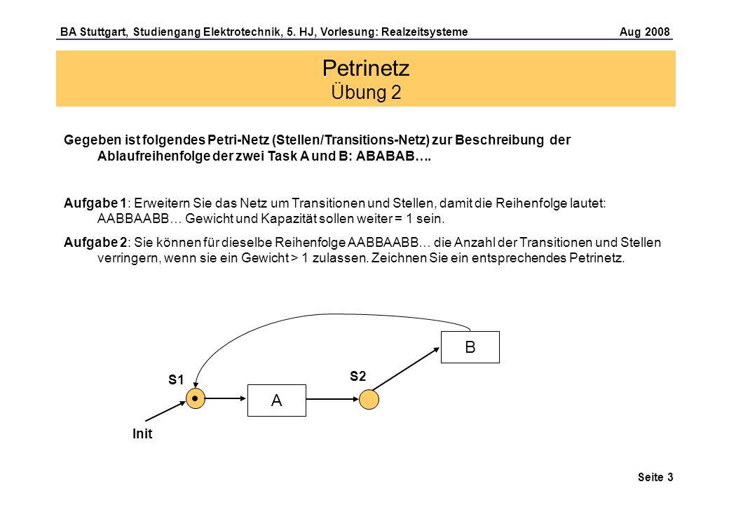 Seite 3 BA Stuttgart, Studiengang Elektrotechnik, 5.