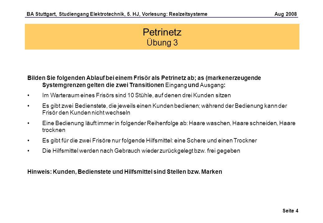 Seite 4 BA Stuttgart, Studiengang Elektrotechnik, 5.