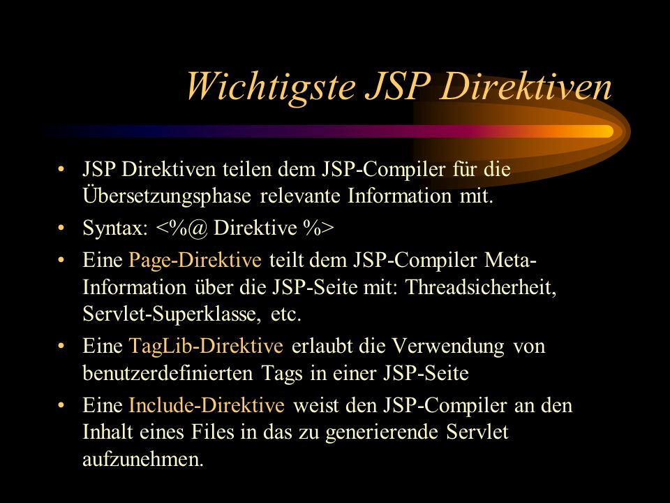 Applikations-Architektur Servlet rufe Model Model - View - Controller JNDI JDBC JSP rufe View, übergebe ViewBeans Datenbank-Modellierer Web-Designer J2EE-Entwickler erzeuge ViewBeans