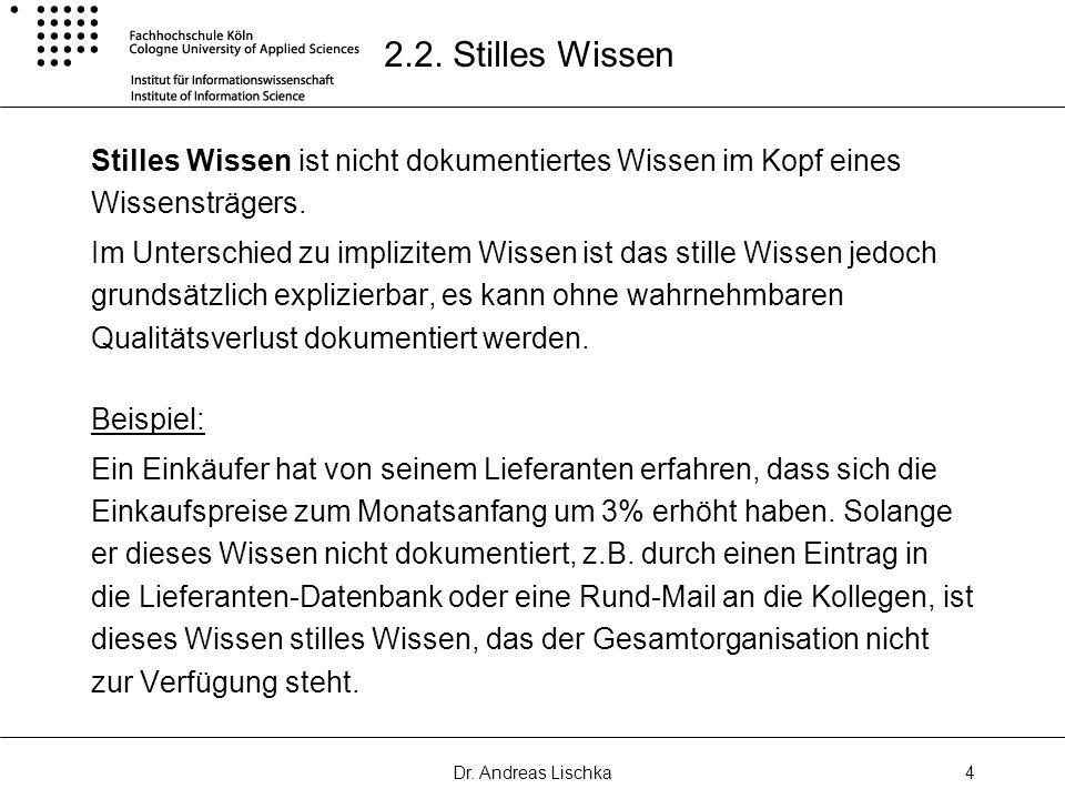 Dr.Andreas Lischka5 2.3.