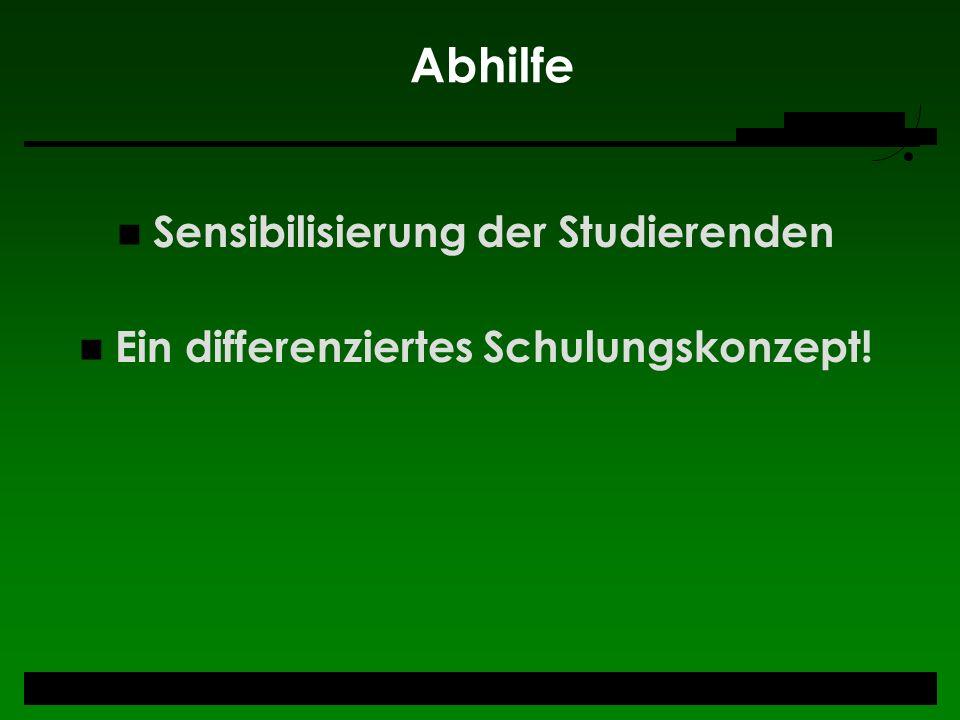 Neues Konzept _Modelle + ULB Düsseldorf Die ULB hat zwei alternative Modelle angedacht: I.