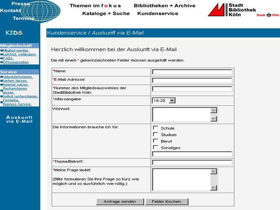Hermann Rösch: Digitale AuskunftFolie 11 von 30