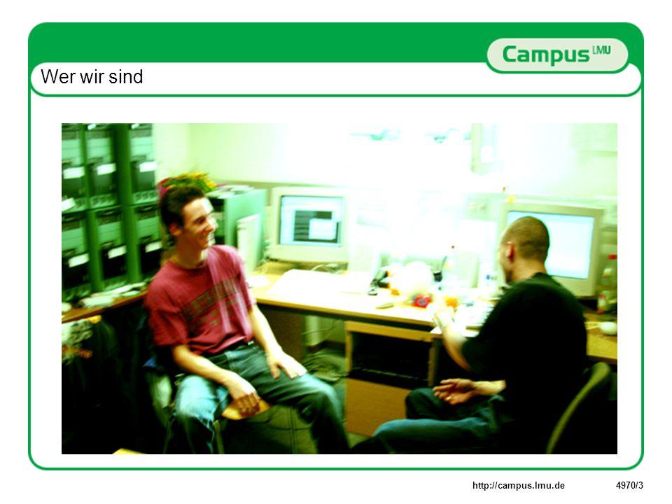 http://campus.lmu.de4970/4 Was wir machen: Campus LifeCycle
