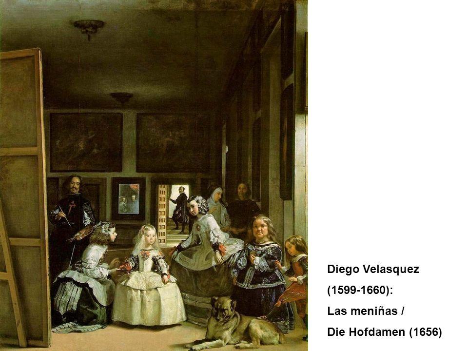 Diego Velasquez (1599-1660): Las meniñas / Die Hofdamen (1656)