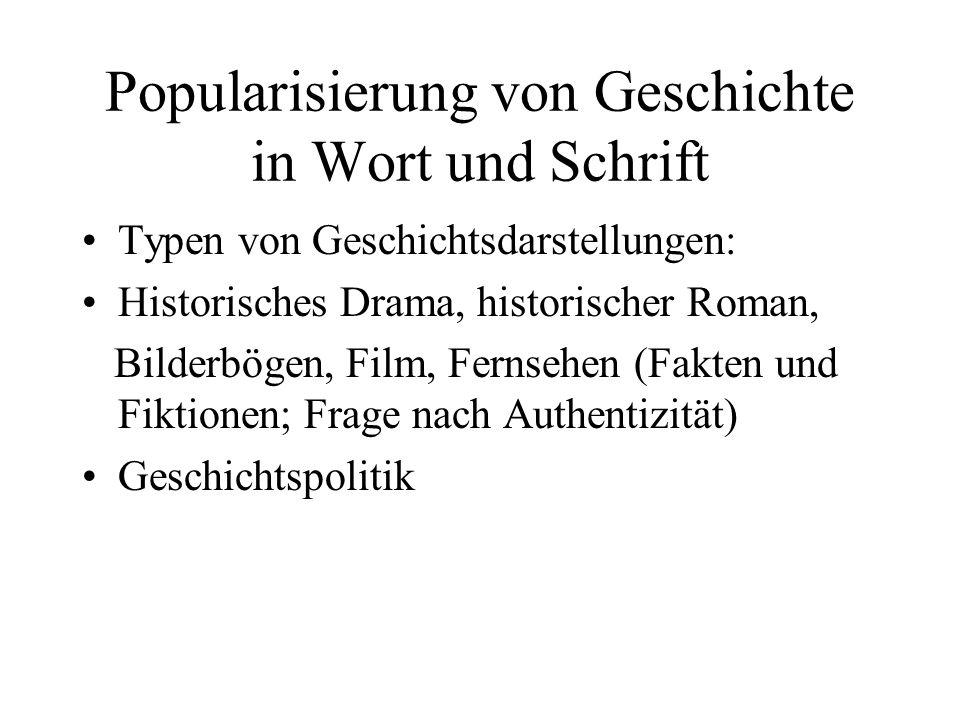 Historische Narrative - Beispiel: Friedrich v.
