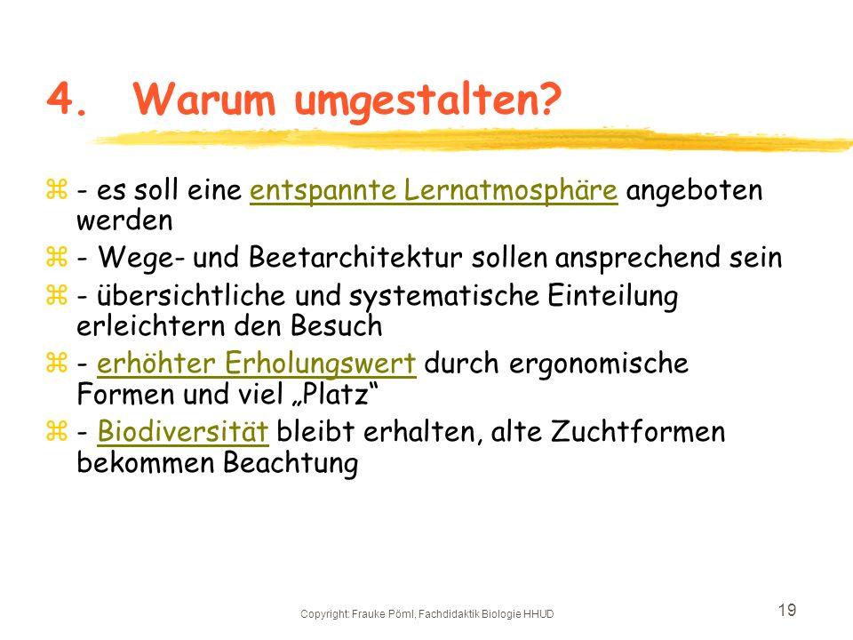 Copyright: Frauke Pöml, Fachdidaktik Biologie HHUD 18 3.2 Futterpflanzen