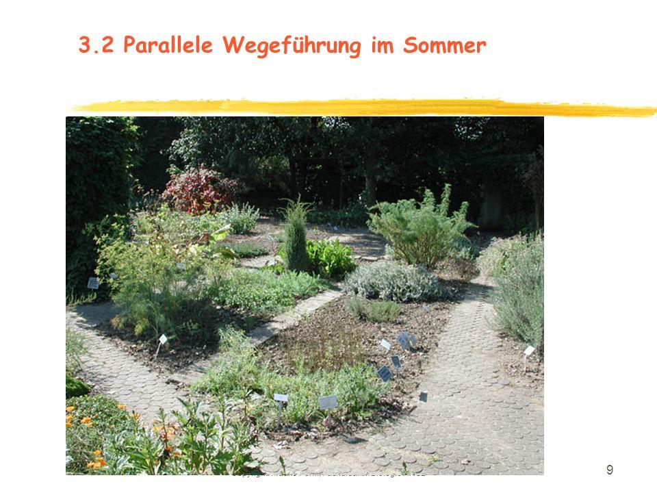 Copyright: Frauke Pöml, Fachdidaktik Biologie HHUD 8 3.2Photos der Weganlage