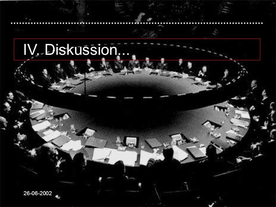 26-06-2002 IV. Diskussion...