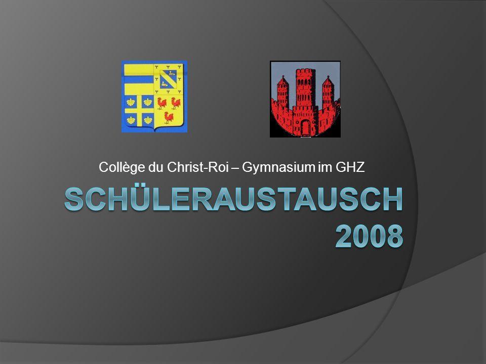 Collège du Christ-Roi – Gymnasium im GHZ