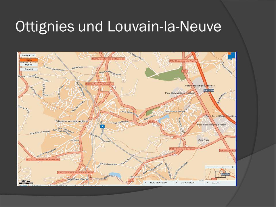Ottignies und Louvain-la-Neuve
