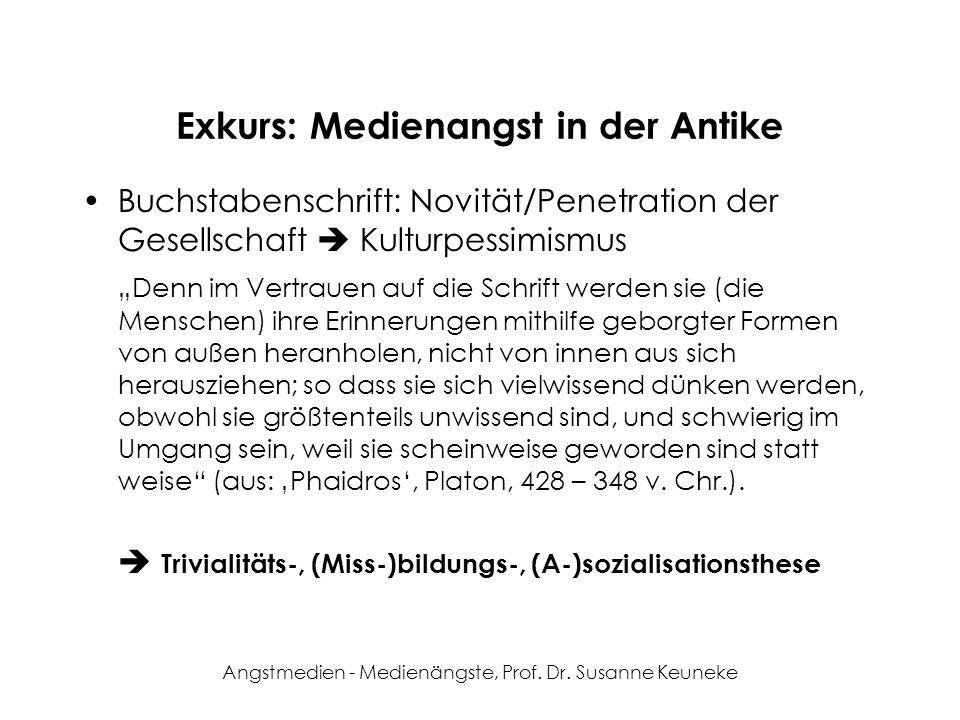 Verwendete Literatur Faulstich, Werner (2000): Medienkulturen, München: Fink (hier: S.