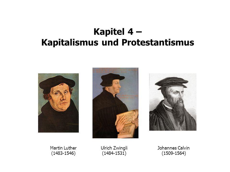 Martin Luther (1483-1546) Ulrich Zwingli (1484-1531) Johannes Calvin (1509-1564)