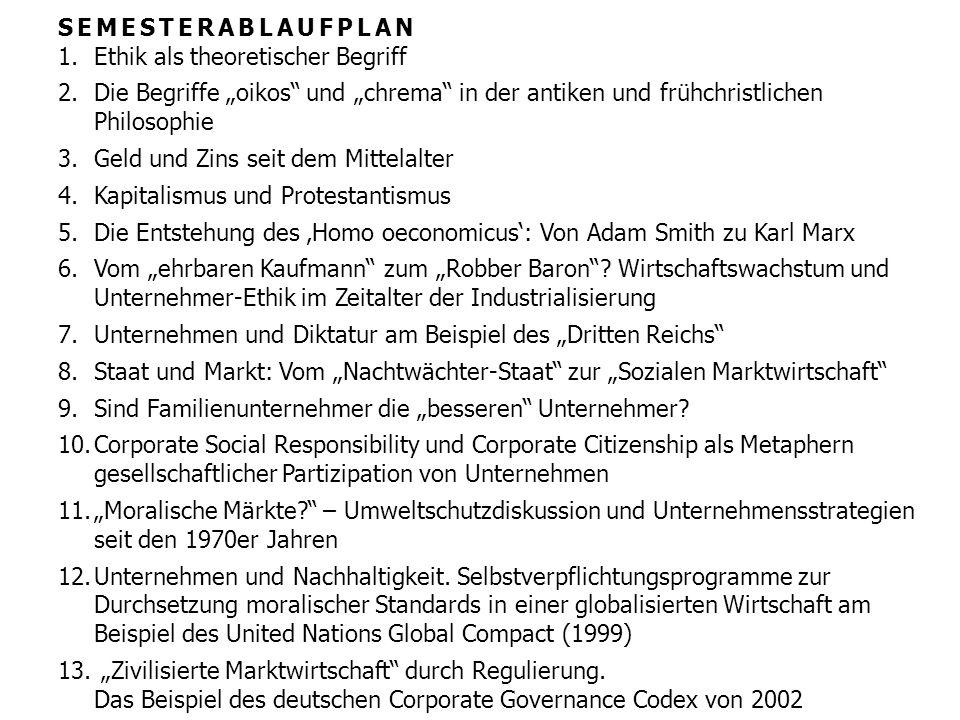 Kapitel 4 – Kapitalismus und Protestantismus M.